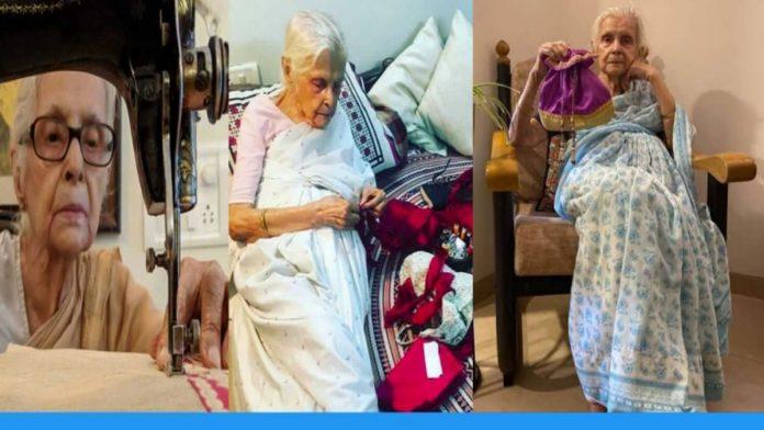 90 years old latika chakravorty is handling online business of potli