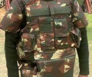 Indian Army Major Anoop Mishra makes a bullet proof jacket that will protect soldiers
